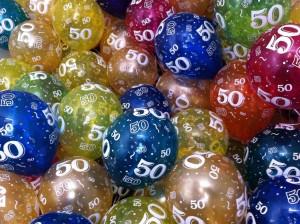 50 ballonnen